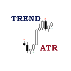 在MetaTrader市场购买MetaTrader 4的'ATR as the determinant of the trend' 技术指标