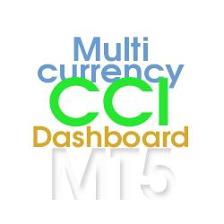 在MetaTrader市场购买MetaTrader 5的'CCI Dashboard for MT5' 技术指标