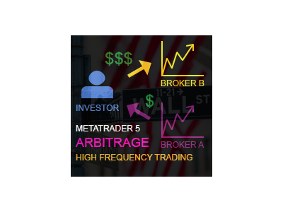 在MetaTrader市场购买MetaTrader 5的'Latency Arbitrage MT5' 自动交易程序(EA交易)